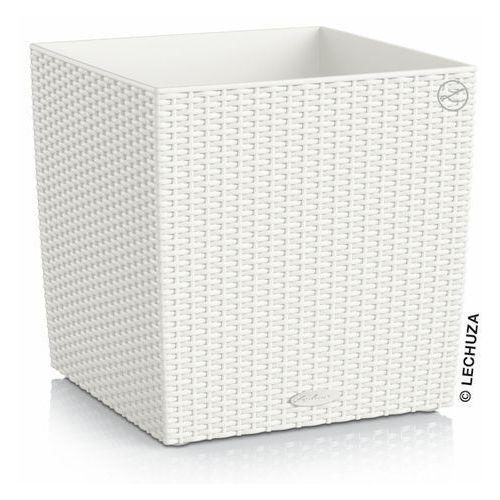 Donica Lechuza Cube Cottage biała, produkt marki Produkty marki Lechuza