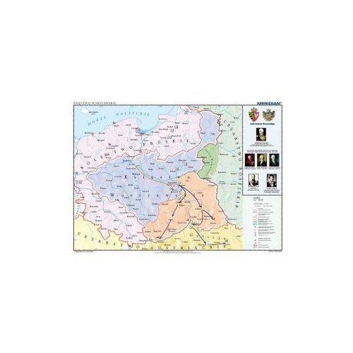Produkt Księstwo Warszawskie w latach 1807-1815 . Mapa ścienna Księstwa Warszawskiego., marki Meridian