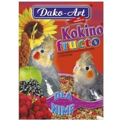 DAKO ART Kokino Fructo 500g dla nimf, Dako-Art
