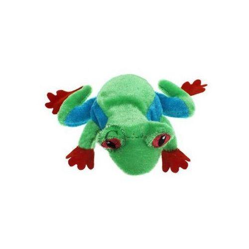 Żaba drzewna - pacynka na palec (pacynka, kukiełka)