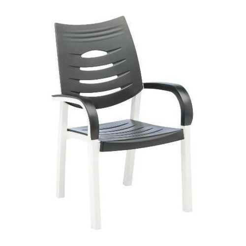 Kettler Happy Fotel biały/antracyt ze sklepu REDCOON