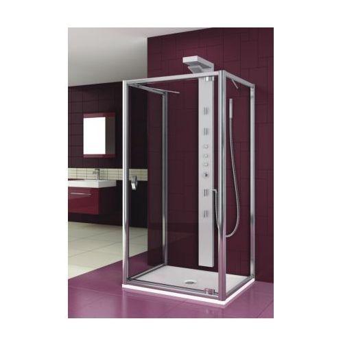 Oferta AQUAFORM drzwi Salgado 90 szkło przejrzyste, montaż z 2 ściankami 103-06088 (drzwi prysznicowe)