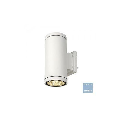 Spotline ENOLA_C OUT UP-DOWN lampa ścienna, okrągła, biały, 9W LED, 3000K 228521 z kategorii oświetlenie