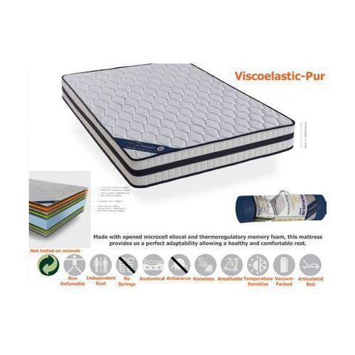 Termoelastyczy materac Eliocel Visco-Pur 140x200x21 / Gwarancja 24m / NAJTAŃSZA WYSYŁKA !, produkt marki Euromat