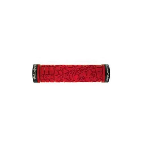 Chwyty kierownicy LIZARDSKINS MOAB LOCK ON klamry czarne 120mm czerwone LZS-LOMDS500 - oferta [05d32c76473152b