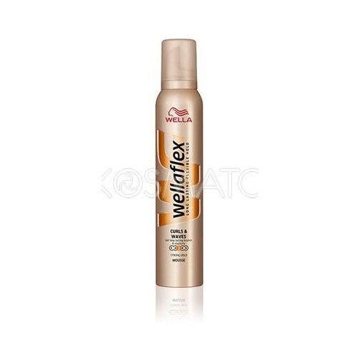 Produkt z kategorii- pozostałe kosmetyki do włosów - Wellaflex Curls & Waves (Loki i Fale) Pianka, 200 ml
