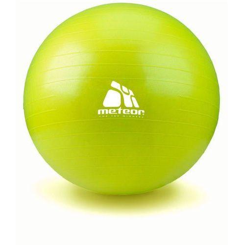Piłka Fitness  65 cm z pompką pistacjowa, produkt marki Meteor