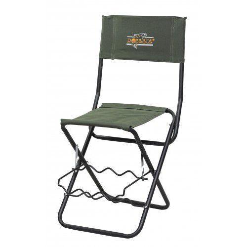 ROBINSON Krzesełko wędkarskie z miejscem na wędki - sprawdź w ProFish24