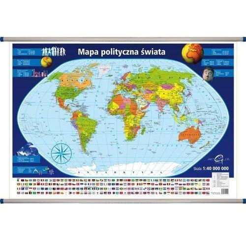 Świat polityczny mapa ścienna 1: 40 000 000 od SELKAR
