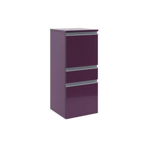Półsłupek łazienkowy PORTOFINO z drzwiami i szufladą prawy fiolet 0415-242802 Aquaform - produkt z katego