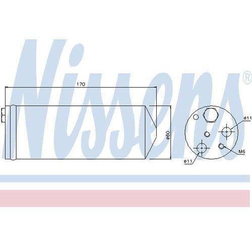 Towar z kategorii: osuszacze powietrza - Osuszacz, klimatyzacja NISSENS 95239