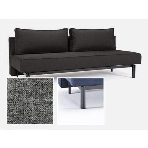 Sofa Sly szara 565 nogi stalowe szare  543071CN527565-02-543070-9, INNOVATION iStyle