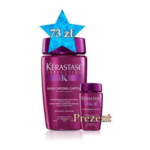Produkt z kategorii- odżywki do włosów - Kerastase Chroma Captive Kąpiel 250 ml + travel size w PREZENCIE