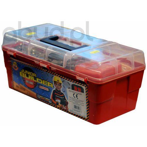 Skrzynka narzędziowa z akcesoriami 33 elementy (skrzynka narzędziowa zabawka) od ABUD