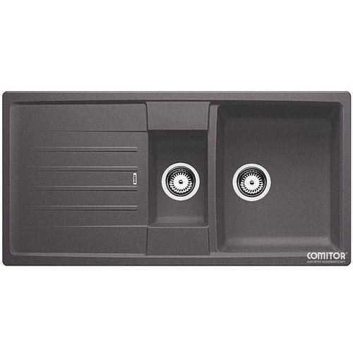 Zlew BLANCO LEXA 6S SZAROŚĆ SKAŁY (korek manualny, odsączarka stalowa) 518861 //zamów wycięcie otworów