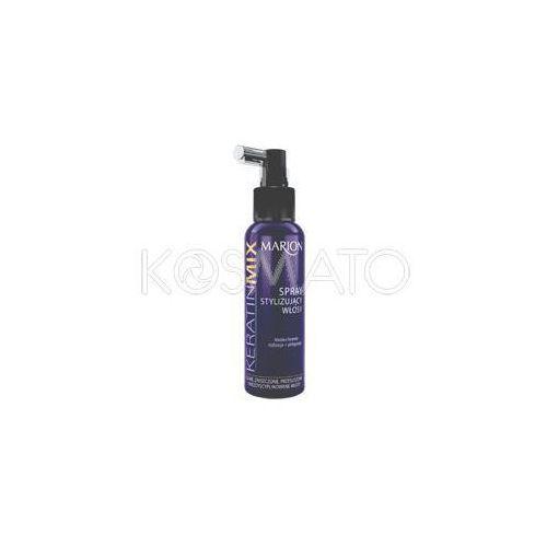 Produkt z kategorii- pozostałe kosmetyki do włosów - Marion Keratin Mix Stylizacja Spray, 130 ml