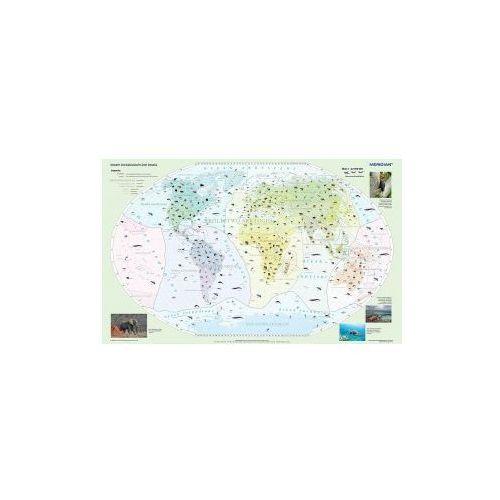 Produkt Świat / Krainy zoograficzne świata. Mapa ścienna. , marki Meridian