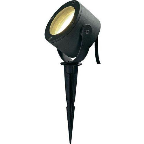 Lampa stojąca zewnętrzna SLV 231525, 1x9 W, GX53, IP44, (SxWxG) 12 x 12 x 6.2 cm