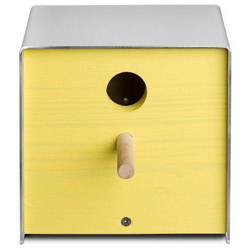 Budka dla ptaków Keilbach Twitter żółta, produkt marki Produkty marki Keilbach