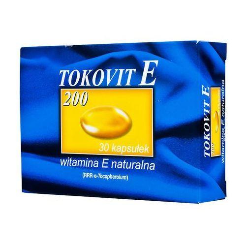 Tokovit E 200 kaps.miękkie 200j.m. 30kaps., postać leku: kapsułki