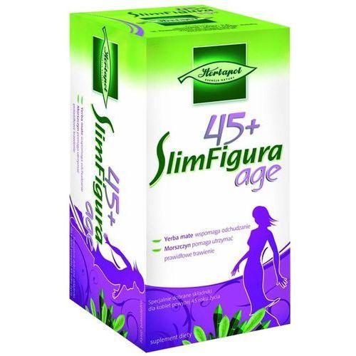 Herbatka slimfigura age 45+ fix herbatka na odchudzanie 2g x 20saszetek wyprodukowany przez Herbapol