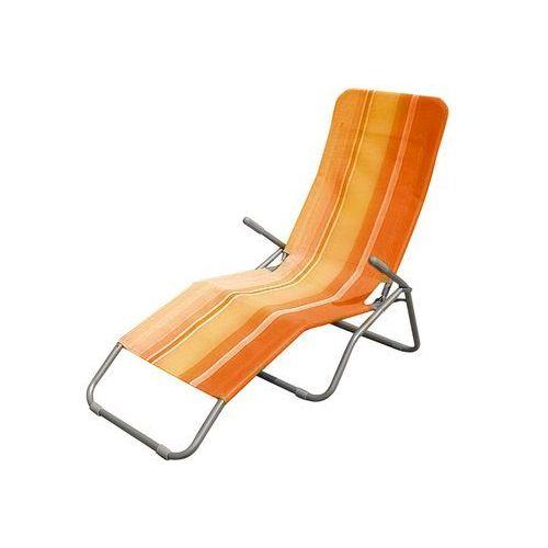 Happy Green Leżak plażowy, pomarańczowy - produkt dostępny w Mall.pl