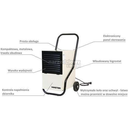 Towar z kategorii: osuszacze powietrza - MASTER Osuszacz powietrza DH 751