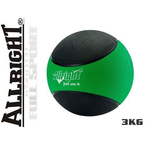 Produkt 3kg - Piłka lekarska Allright - gumowa