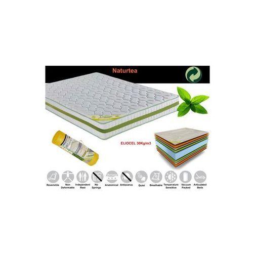 Termoelastyczny materac Naturtea 23 160x200 cm / Gwarancja 24m / NAJTAŃSZA WYSYŁKA !, produkt marki Euromat