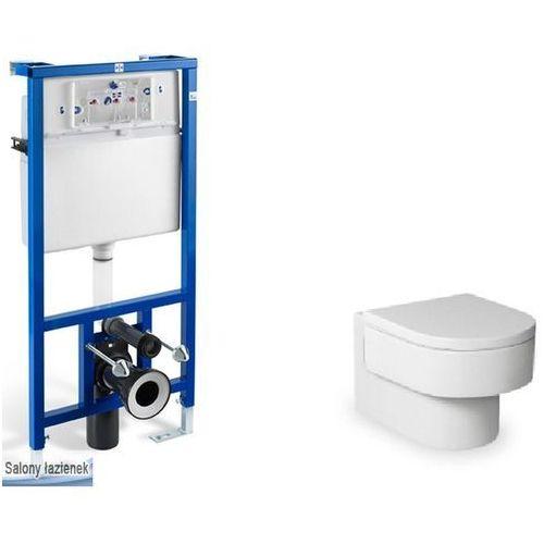 Produkt z kategorii- pozostałe artykuły hydrauliczne - Zestaw podtynkowy PRO+miska WC podwieszana Happening