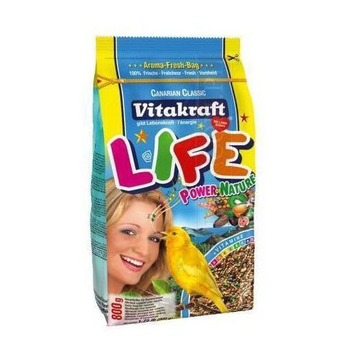 VITAKRAFT Life Power – karma dla kanarka 800g, Vitakraft