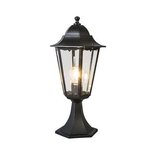 Lampa zewnętrzna cokół New Orleans czarna, Ranex