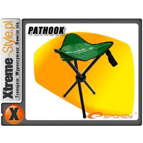 Artykuł Krzesło turystyczne Spokey Pathook zielone trójnóg z kategorii krzesełka wędkarskie