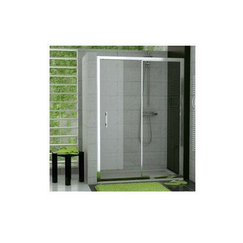 SANSWISS TOP-LINE Drzwi rozsuwane dwuczęściowe TOPS2 (drzwi prysznicowe)