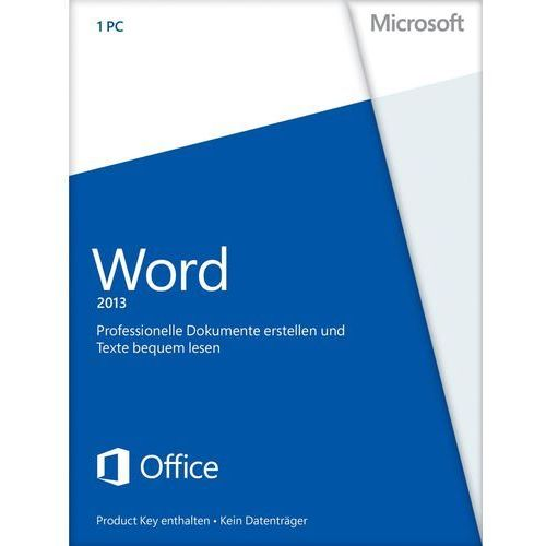 Produkt z kategorii- pozostałe oprogramowanie - Microsoft Word 2013 32/64bit ENG Win ESD