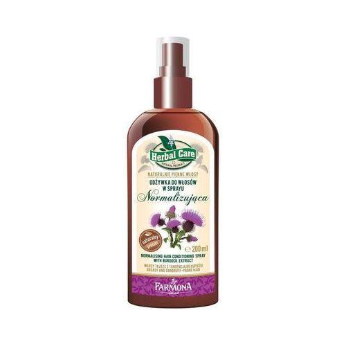 Herbal Care Normalizująca odżywka do włosów w sprayu Łopian 200ml - produkt z kategorii- odżywki do włosów