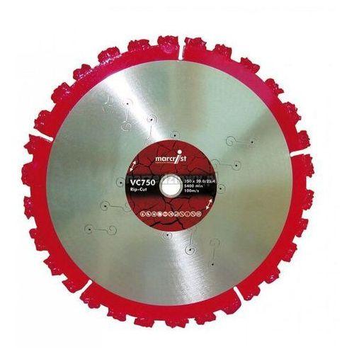 MARCRIST Tarcza diamentowa do cięcia wzdłużnego VC750 (MC2360), Średnica (mm): 125, Średnica otworu (mm): 22,2 TRANSPORT GRATIS ! ze sklepu narzedziowy.pl