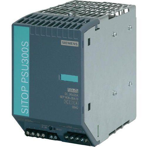 Artykuł Zasilacz na szynę Siemens SITOP smart PSU300S, 24 V, 20 A z kategorii transformatory