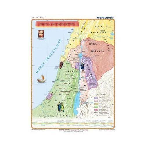 Produkt Palestyna za czasów Chrystusa. Mapa ścienna., marki Meridian