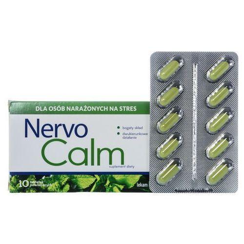 NervoCalm 10 tabl., postać leku: tabletki