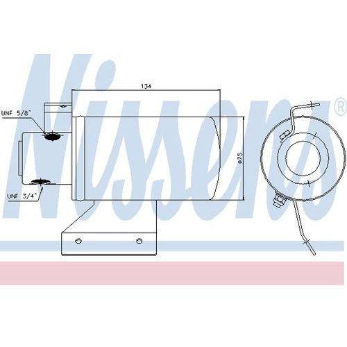 Towar z kategorii: osuszacze powietrza - Osuszacz, klimatyzacja NISSENS 95053
