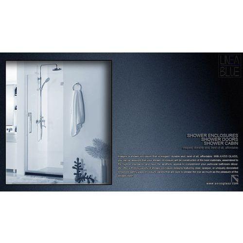 Drzwi prysznicowe AXISS GLASS AN6211WD 600mm L (drzwi prysznicowe)