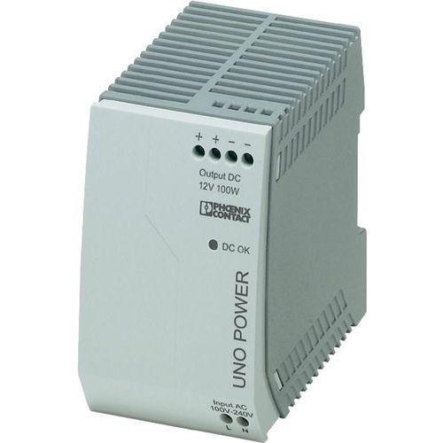 Zasilacz na szynę DIN Phoenix Contact UNO-PS/1AC/12DC/100W 2902997 8,3 A z kategorii Transformatory