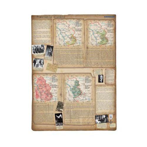 Produkt Powstania śląskie. Mapa ścienna. , marki Meridian