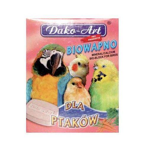 DAKO ART Bio-Wapno dla ptaków duża kostka, 5 szt.