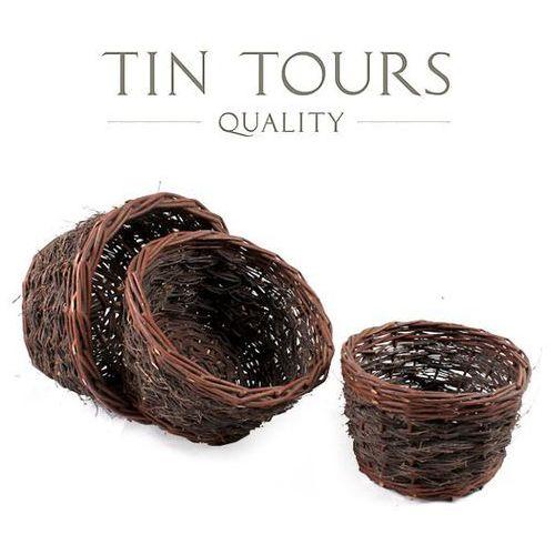 Produkt KOMPLET TRZECH OSŁON Z FOLIĄ NA DONICZKI T0003.3.F, marki Tin Tours Sp.z o.o.