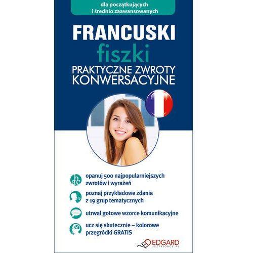Francuski Fiszki praktyczne zwroty konwersacyjne - oferta [35556322755585fb]