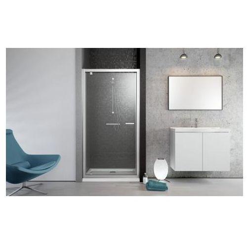Radaway Twist DW Drzwi wnękowe - 80/190cm Szkło Brązowe - 382001-08 (drzwi prysznicowe)