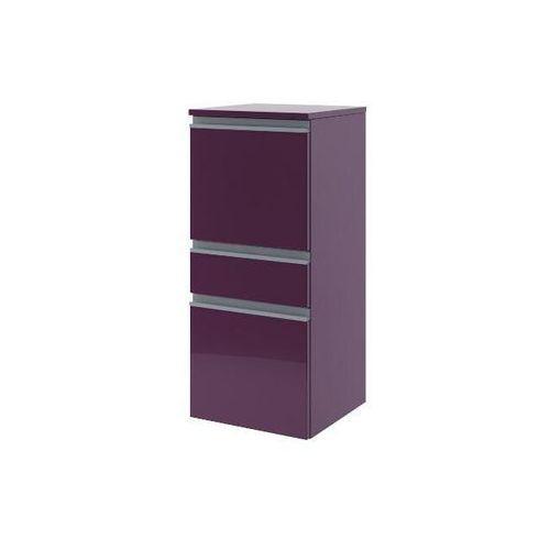 Półsłupek łazienkowy PORTOFINO z drzwiami i szufladą lewy fiolet 0415-242801 Aquaform - produkt z kategor