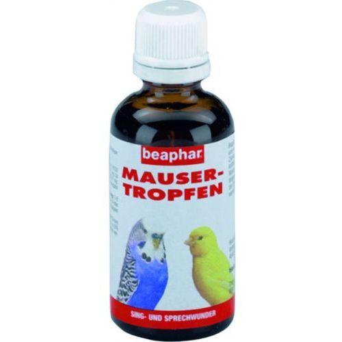 Mausertropfen preparat witaminowy łagodzący proces pierzenia 50ml, Beaphar